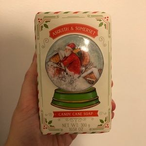 Candy cane soap, NEW